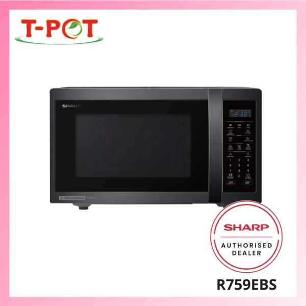 SHARP 28L Microwave Oven with Grill R759EBS - T-Pot @ Kota Kemuning