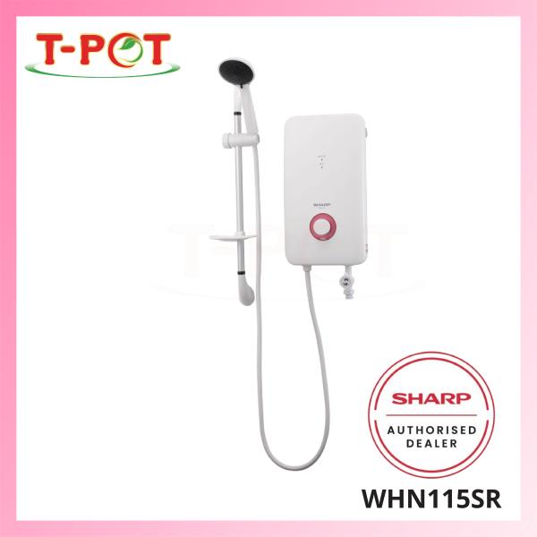 SHARP No Pump Shower Heater WHN115SR - T-Pot @ Kota Kemuning