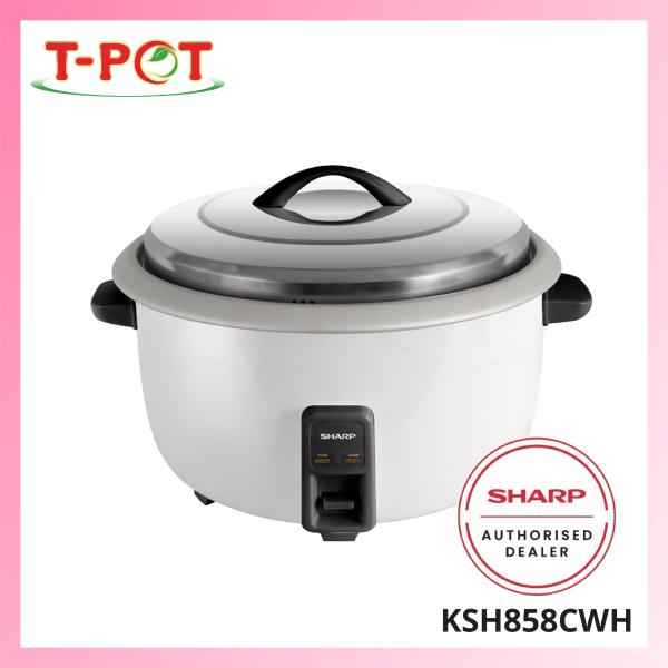 SHARP 8.5L Rice Cooker KSH858CWH - T-Pot @ Kota Kemuning