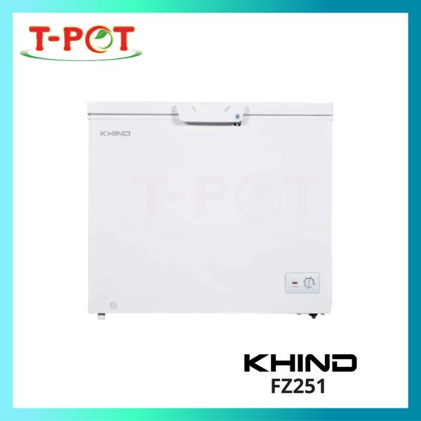 KHIND 251L Chest Freezer FZ251 - T-Pot @ Kota Kemuning