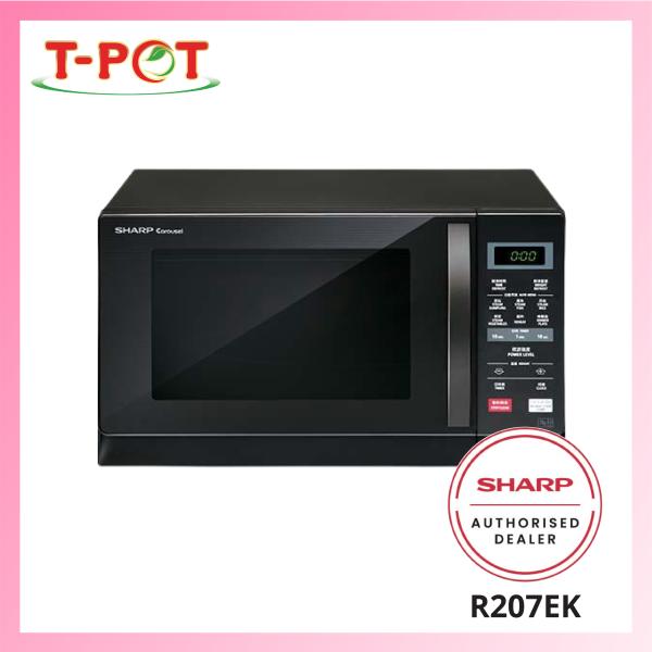 SHARP 20L Microwave Oven R207EK - T-Pot @ Kota Kemuning