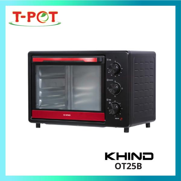 KHIND 25L Electric Oven OT25B - T-Pot @ Kota Kemuning