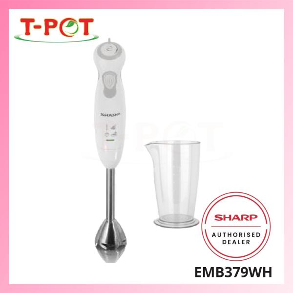 SHARP 550W Hand Blender EMB379WH - T-Pot @ Kota Kemuning