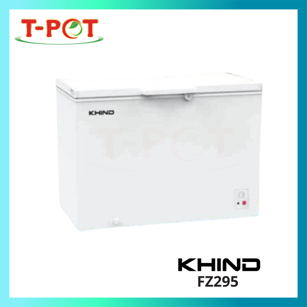 Khind 300L Chest Freezer FZ295 - T-Pot @ Kota Kemuning