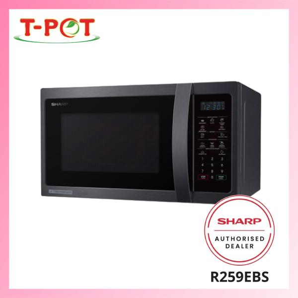 SHARP 23L Microwave Oven R259EBS - T-Pot @ Kota Kemuning