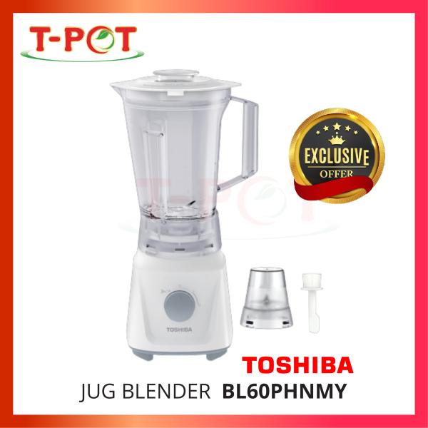 TOSHIBA 1.5L Jug Blender BL60PHNMY - T-Pot @ Kota Kemuning