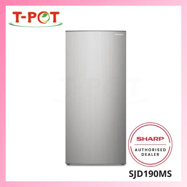 SHARP 156L 1-Door Refrigerator SJD190MS - T-Pot @ Kota Kemuning