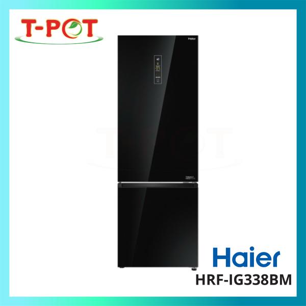 HAIER 317L 2-Door Inverter Refrigerator HRF-IG338BM - T-Pot @ Kota Kemuning