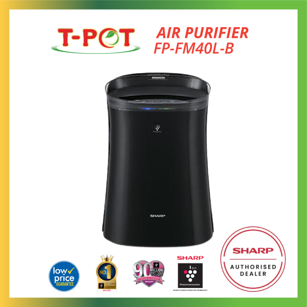 SHARP Air Purifier with Mosquito Catcher FP-FM40L-B - T-Pot @ Kota Kemuning