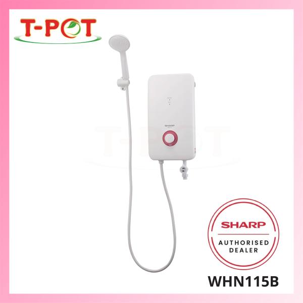 SHARP No Pump Shower Heater WHN115B - T-Pot @ Kota Kemuning