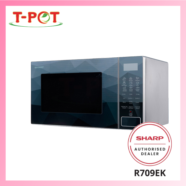 SHARP 23L Microwave Oven with Grill R709EK - T-Pot @ Kota Kemuning