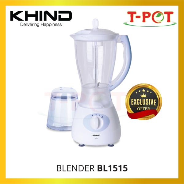 KHIND 1.5L Jug Blender BL1515 - T-Pot @ Kota Kemuning