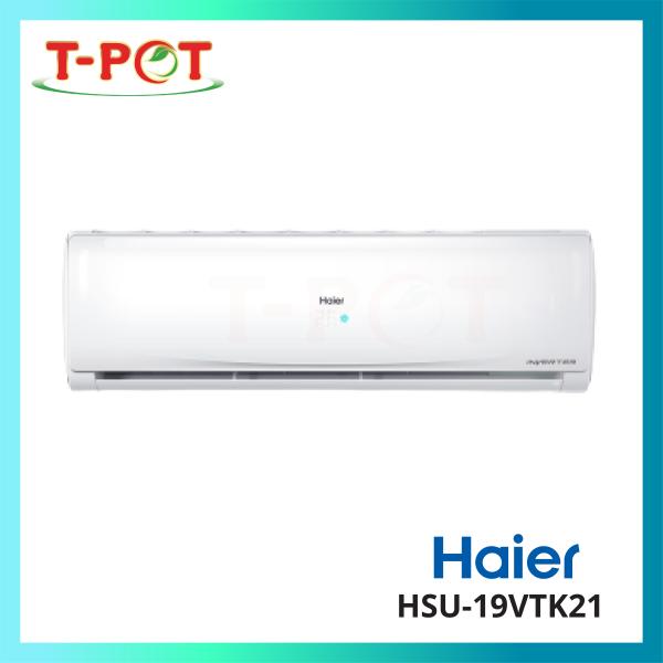 HAIER 2.0HP R32 Inverter Series Air Conditioner HSU-19VTK21 - T-Pot @ Kota Kemuning