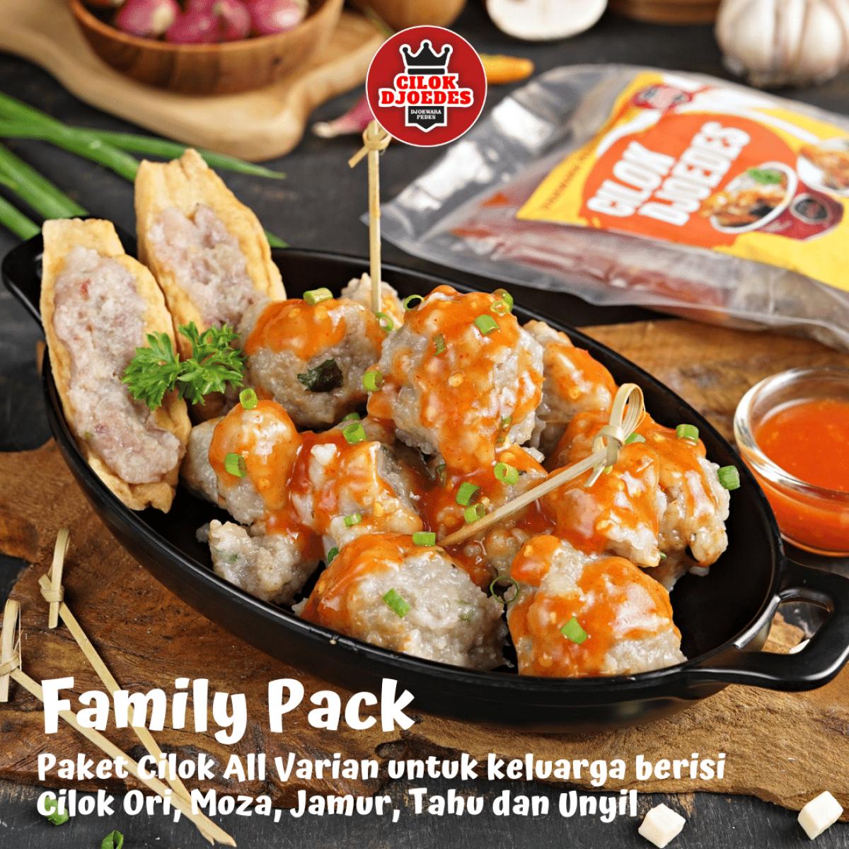 Family Pack Cilok Djoedes - Cilok Djoedes
