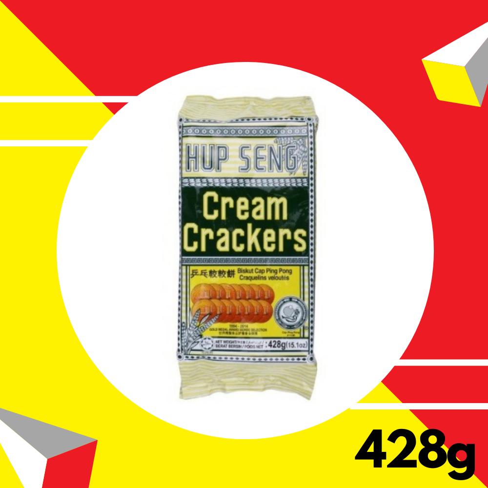 Hup Seng Cream Crackers Ping Pong 428gm