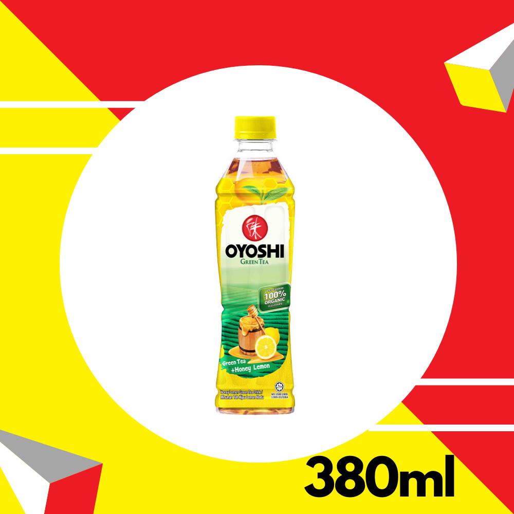Oyoshi Green Tea Honey Lemon Pet 380ml