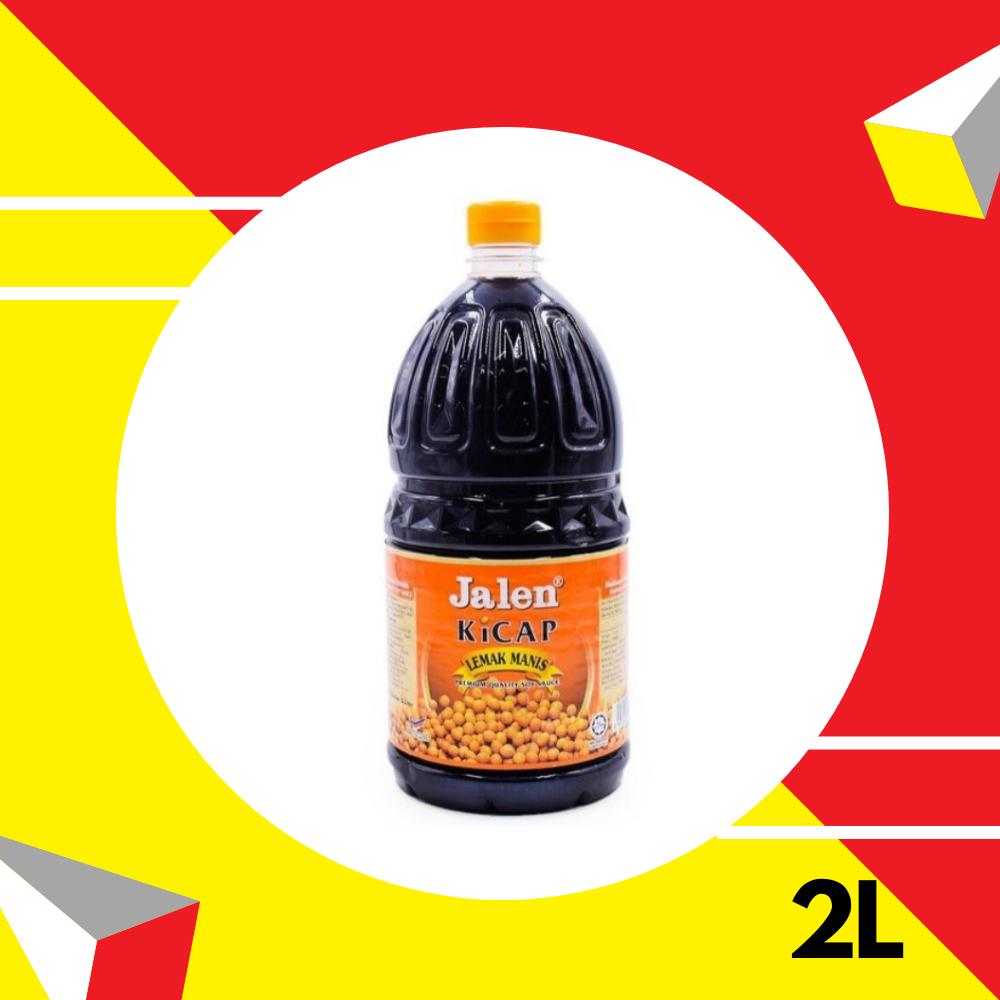 Jalen Kicap Lemak Manis (Oren) 2 Liter