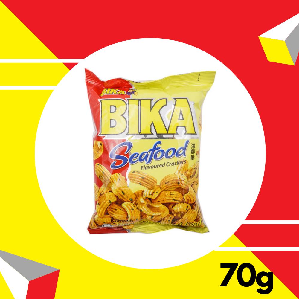 Bika Seafood Cracker  70gm
