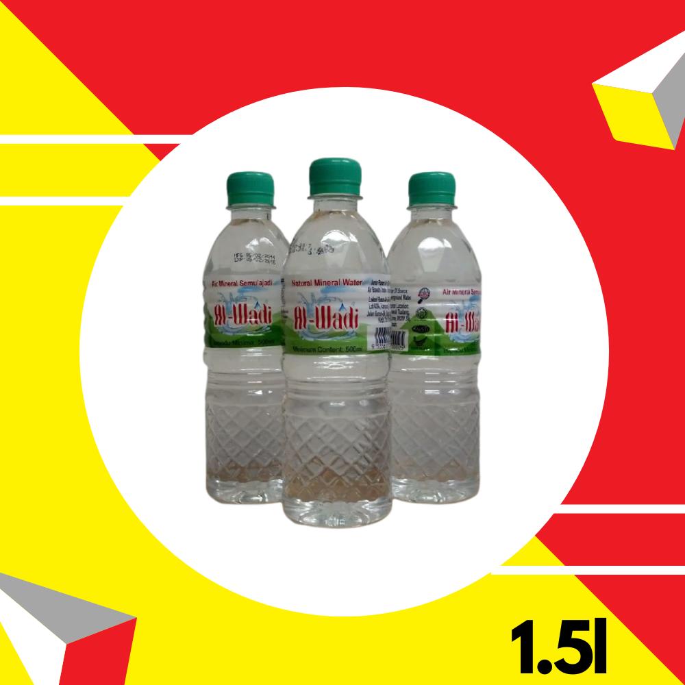 Al-Wadi Natural Mineral Water 1.5Litre