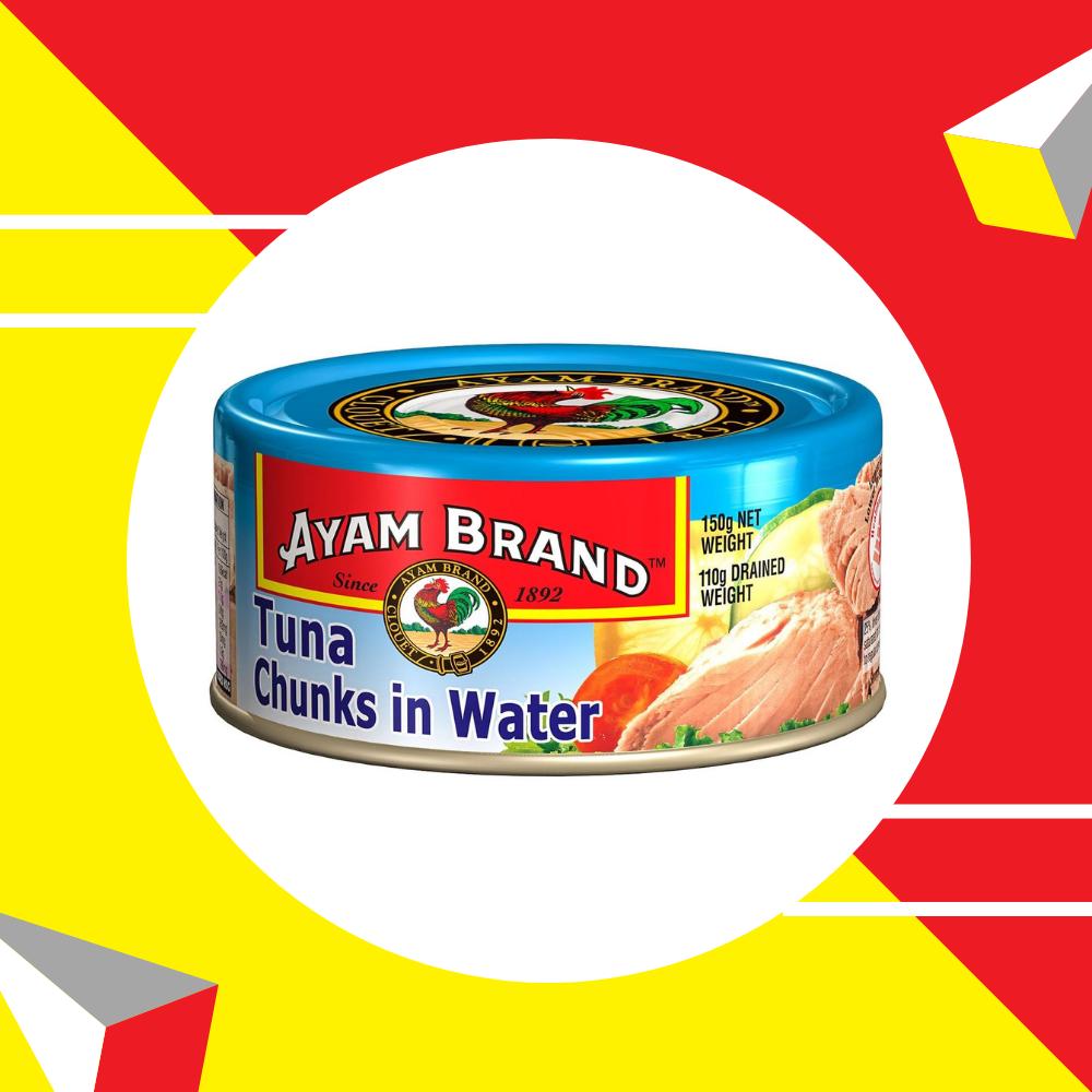 Ayam Brand Classic Tuna (Chunks In Water) 150gm