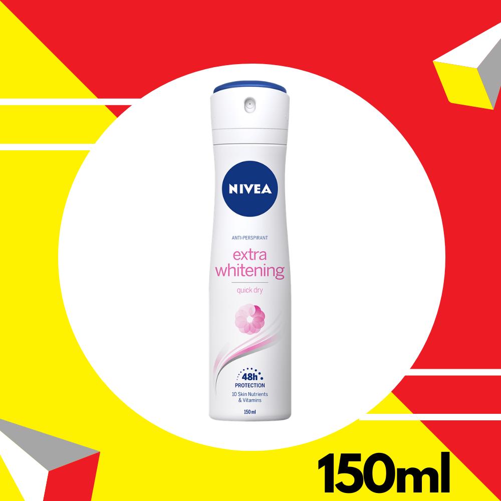 Nivea Deodorant Female Extra Whitening Spray 150ml