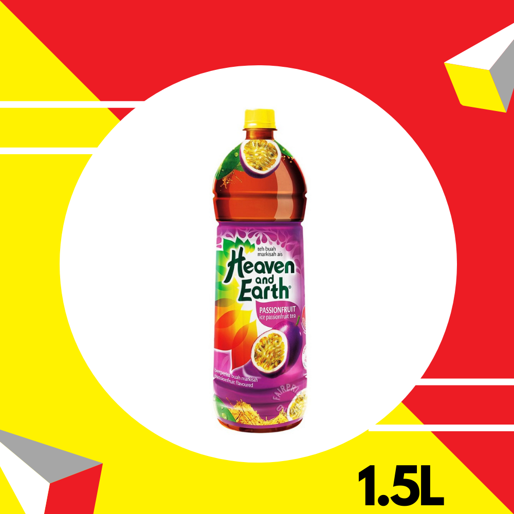 Heaven and Earth Ice Passion Fruit Tea 1.5L