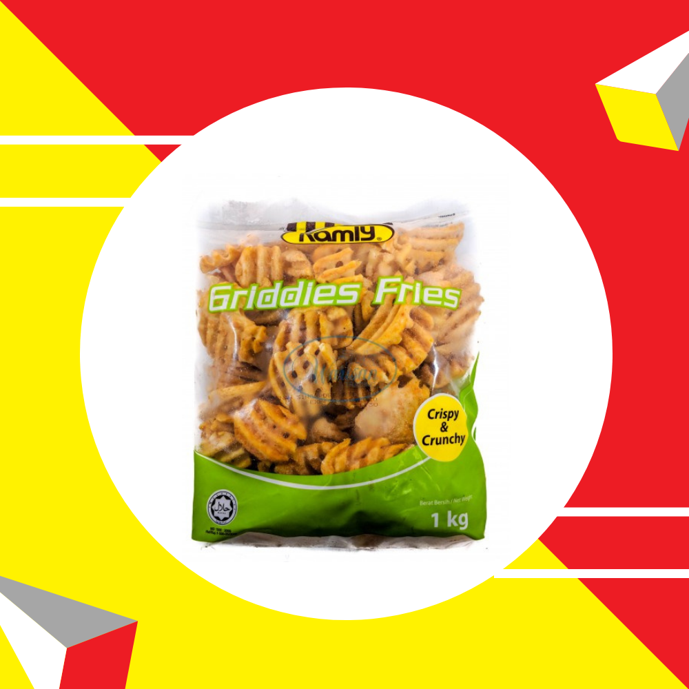 Ramly Ubi Kentang Griddies Fries 1kg