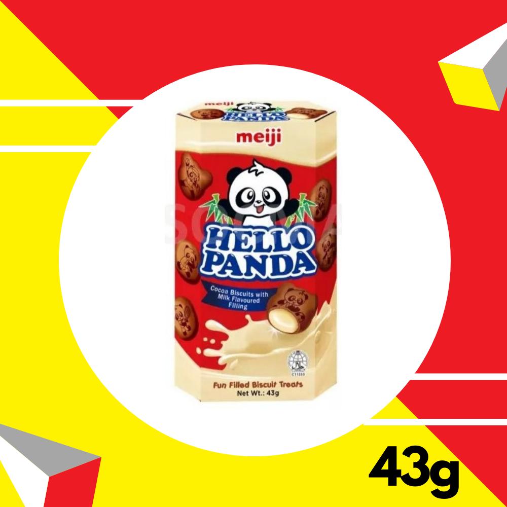 Meiji Hello Panda Chocomilik 43gm