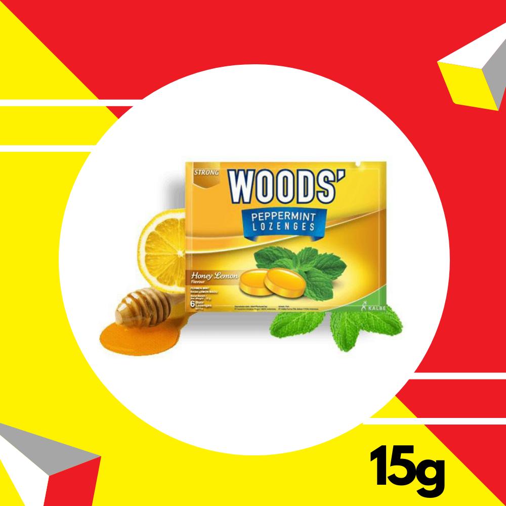 Woods' Peppermint Honey Lemon 15gm