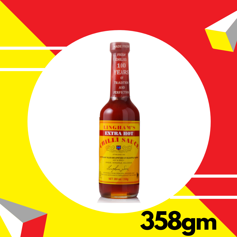 Lingham's Chili Sauce - Extra Hot 358g