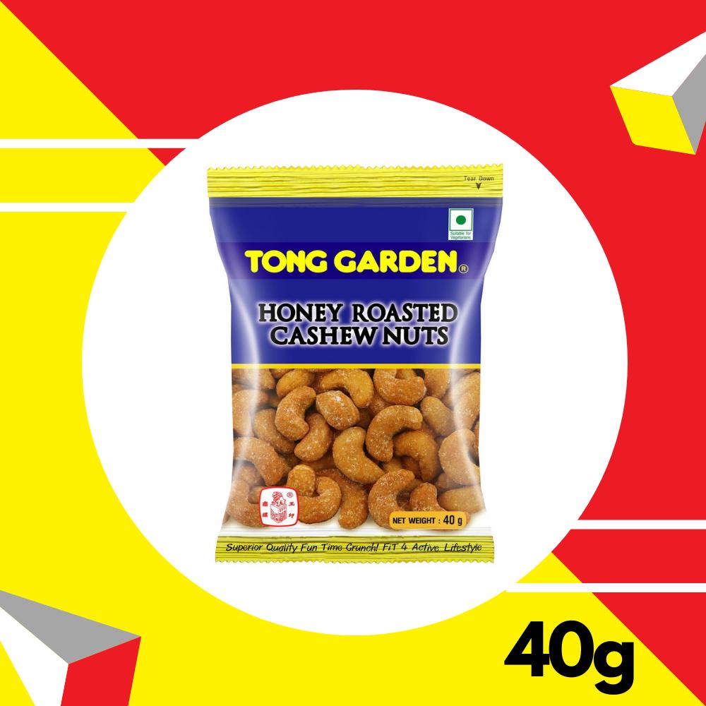 Tong Garden Honey Cashew Nuts 40gm