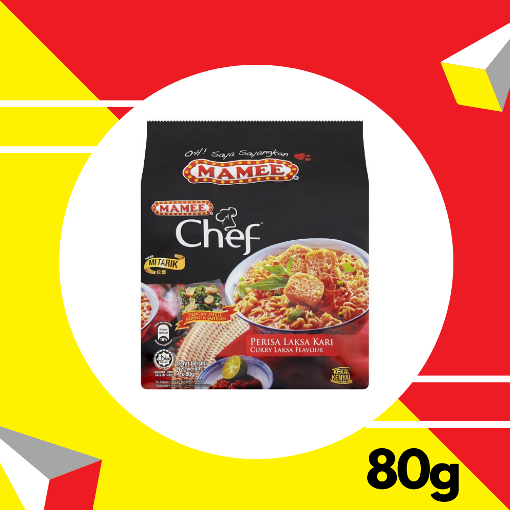 Mamee Chef Curry Laksa 80gm