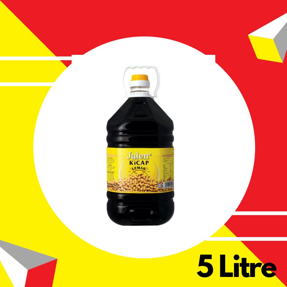 Jalen Kicap Lemak (Kuning) 5 Liter