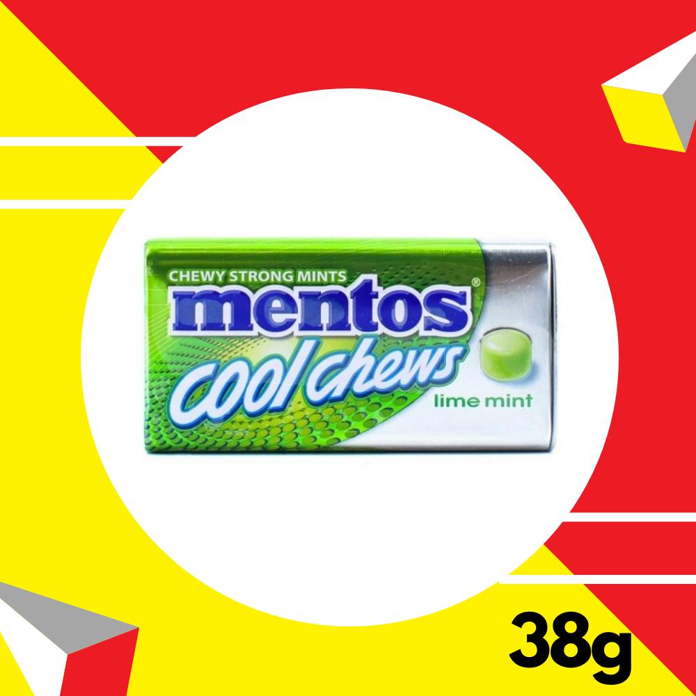 Mentos Cool Chew Tin Lime Mint 38gm