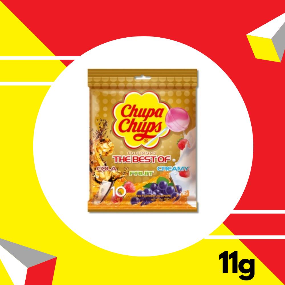 Chupa Chups Cola Fruit Creamy 11gm