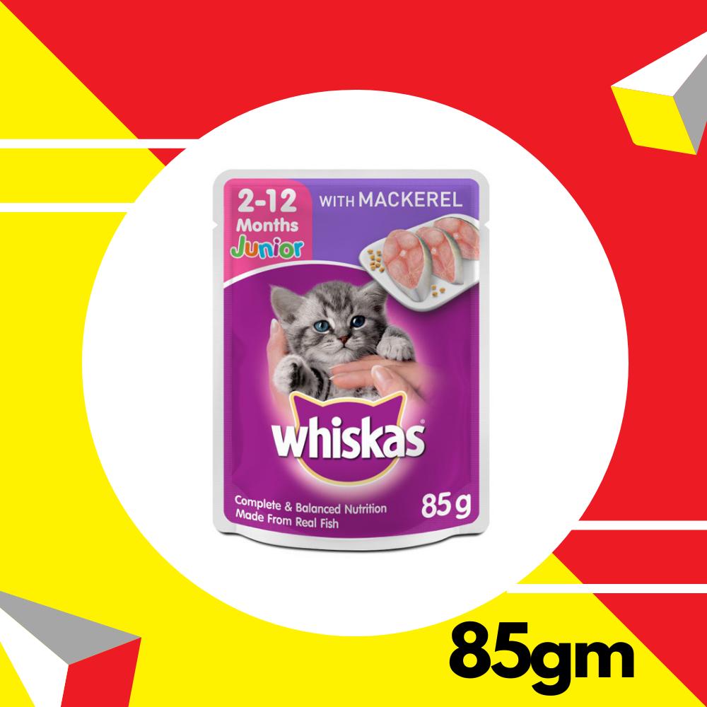 Whiskas Junior Mackerel 85gm