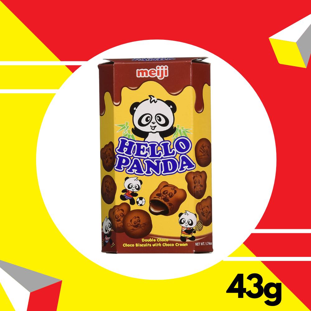 Meiji Hello Panda Double Chocolate 43gm