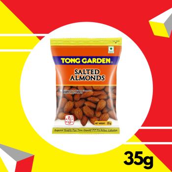 Tong Garden Salted Almond  35gm