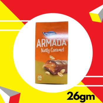 Piccadeli Armada Nutty Caramel 26gm