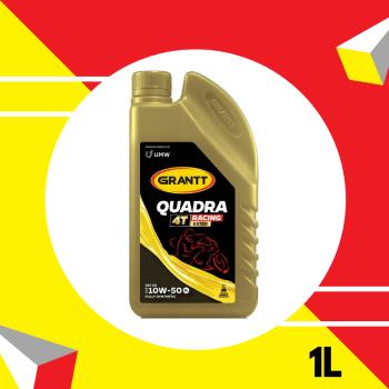 Grantt Quadra Fully Synthetic SAE 10W-50 Racing Ester API SN 1L