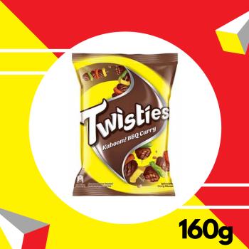 Twisties BBQ 160gm