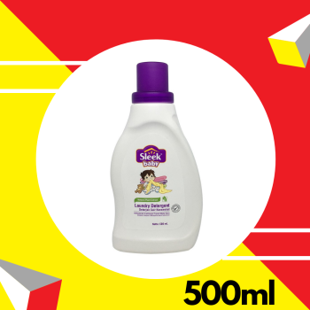 Sleek Baby Laundry Detergent Bottle 500ml