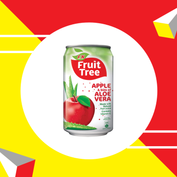 Fruit Tree Apple Aloe Vera Can 300ml