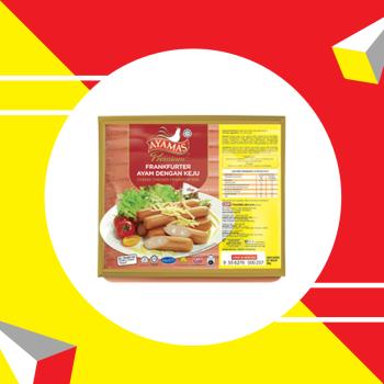 Ayamas Chicken Frank Cheese 300g
