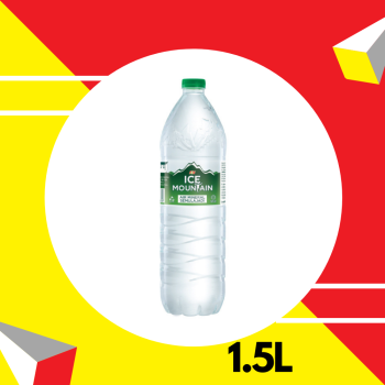 Ice Mountain Mineral Water Pet 1.5L (New)