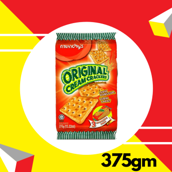 Munchy's Original Cream Crackers 375g