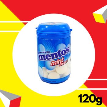 Mentos Plus Mint Bottle 120gm