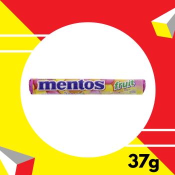 Mentos Fruit 37gm