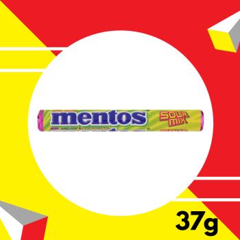 Mentos Sourmix 37gm
