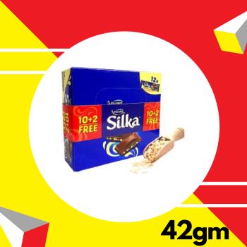 Piccadeli Silka Crispies 42gm